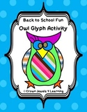 Back to School Fun - Owl Glyph and Partner Interview Activity