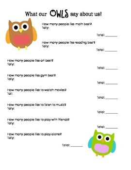 Back to School: Owl Glyph and Graph