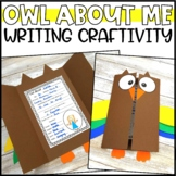 Back to School Owl Writing Craftivity