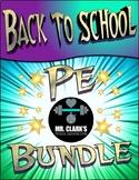 Back to School PE Bundle