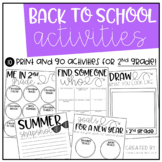 Back to School Pack {2nd Grade}