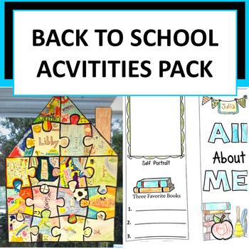 Back to School Pack - 3 Activities!