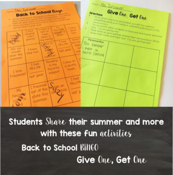 Back to School Pack: 5 Activities to Kickstart your School Year
