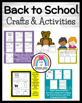 Back to School Pack: Bear, Special Me Foldable, 5 Senses Book