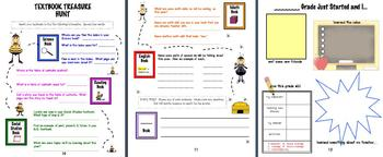 Back to School Pack Bees Theme