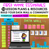 Back to School Pack (10 First Week Lessons & Data Wall) BU