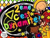 Back to School Pack Grade 2 ~ French ~ La rentrée
