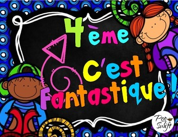 Back to School Pack Grade 4 ~ French ~ La rentrée