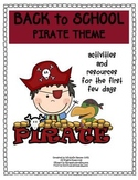 Back to School Pack Pirate Theme