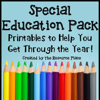 Back to School Pack - Special Education Edition
