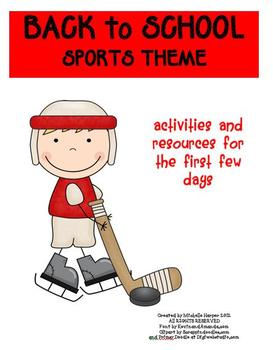 Back to School Pack Sports Theme
