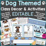 Dog Themed Classroom Decor & Back to School Activities