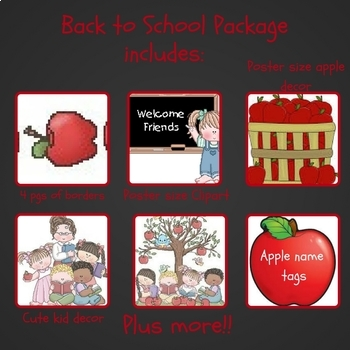 Back to School Package for Your Classroom