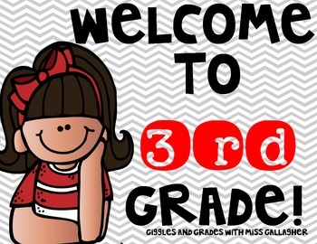 Back to School- Third Grade