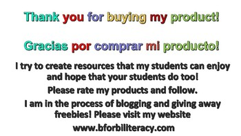 Back to School Packet-Bilingual