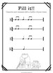 Back to School Packet: Rhythm Practice, Level 1