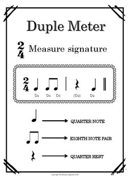 Back to School Packet: Rhythm Practice, Level 2