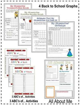 Back to School ~ Student Activity Pack