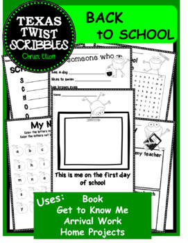 BACK TO SCHOOL PAGES