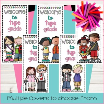 Back to School Night Pamphlet for Meet the Teacher {editable}