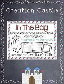 Back to School: Paper Bag Book Activity