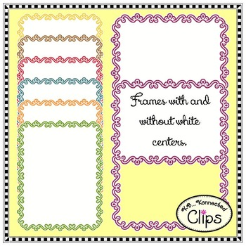 Back to School Paper and Frame Collection with Pencils