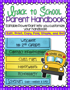 Back to School Parent Handbook