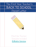 Back to School Parent Letter