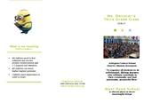 Back to School Parent Night Brochure - Editable
