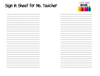 EDITABLE Open House Parent Night  Back to School Tri-Fold Brochure Template