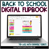 Back to School Parent Night Flipbook: EDITABLE