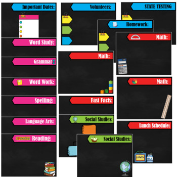 Back to School- Powerpoint Template- Editable