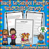 Back to School Surveys for Parents and Students
