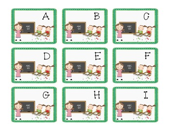Back to School Partner Cards