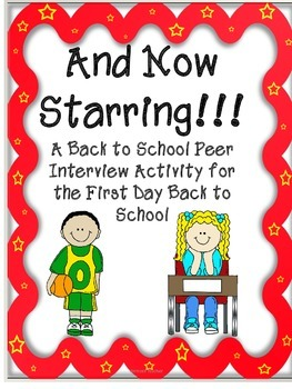 Back to School Partner Interview for the First Day