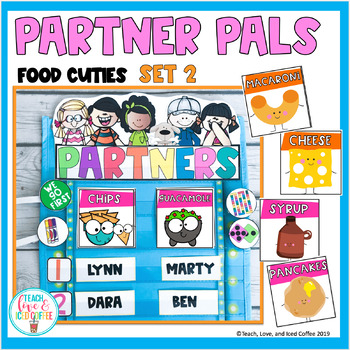 Back to School Partner Pals-Set 2