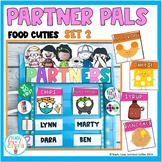 Partner Pals Pairing Cards  Food Cuties Set 2