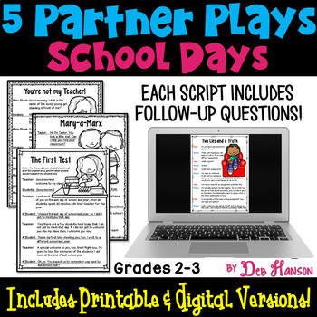 Back to School Partner Plays