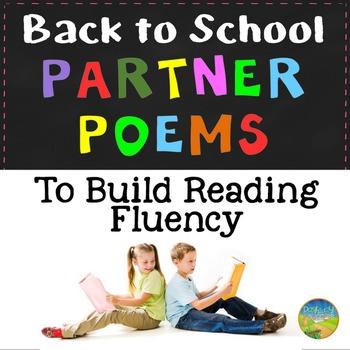 Back to School Partner Poems