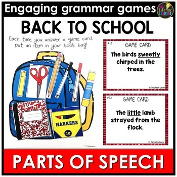 Back to School Parts of Speech