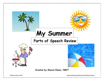Summer Parts of Speech Review