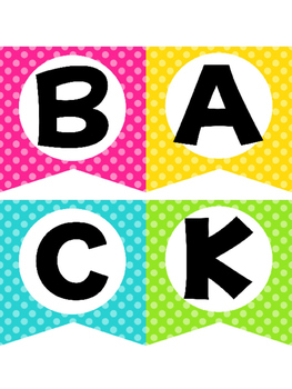 Back to School Party Decor Pack