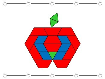 Back to School Pattern Blocks