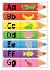 Back to School Pencil Beginning Sounds Match