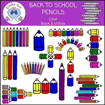 Colored Pencil Clip Art