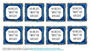Back to School Pencil Labels