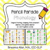 Pencil Parade Phonology Packet