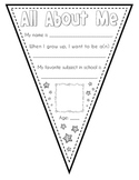 Back to School * All About Me * Super Star Pennants
