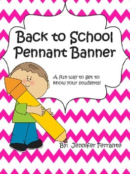 Back to School Pennant Banner
