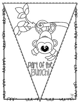 Back to School Pennant Banner - Part of the Bunch!
